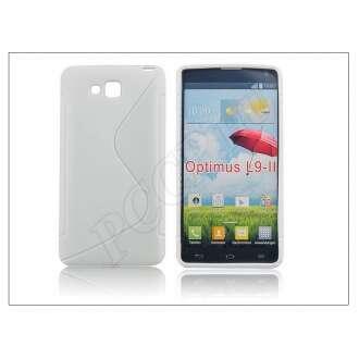 LG Optimus L9 II fehér szilikon hátlap