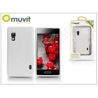 LG Optimus L5 II fehér hátlap