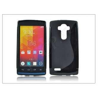 LG G4 fekete szilikon hátlap