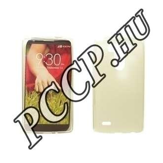 LG G4 átlátszó vékony szilikon hátlap