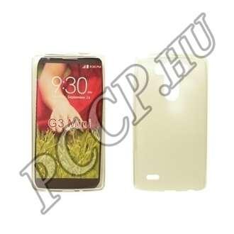 LG G4C átlátszó vékony szilikon hátlap