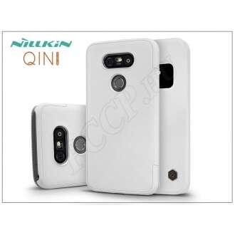 LG G5 fehér oldalra nyíló flip tok