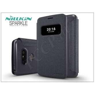 LG G5 fekete oldalra nyíló flip tok