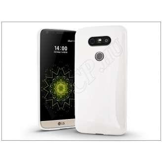 LG G5 fehér szilikon hátlap
