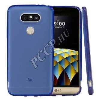 LG G5 kék vékony szilikon hátlap
