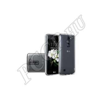 LG K10 átlátszó szilikon hátlap