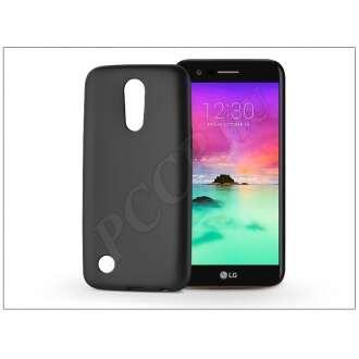 LG K10 (2017) fekete szilikon hátlap