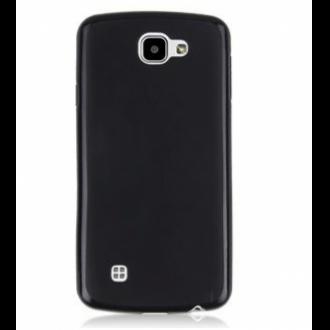 LG K4 fekete vékony szilikon hátlap