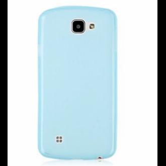 LG K4 kék vékony szilikon hátlap
