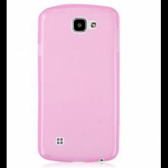 LG K4 pink vékony szilikon hátlap