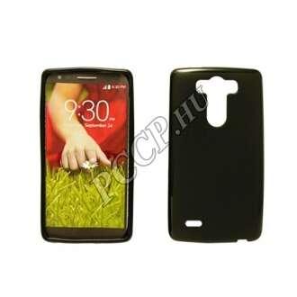 LG K8 fekete vékony szilikon hátlap