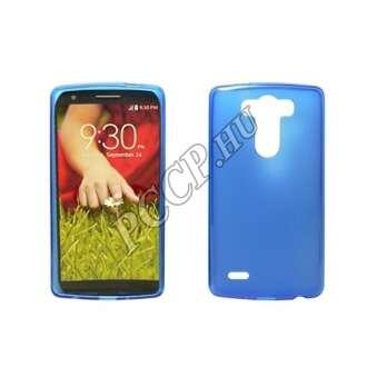 LG K8 kék vékony szilikon hátlap