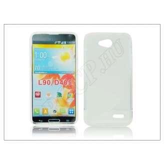 LG L90 átlátszó szilikon hátlap