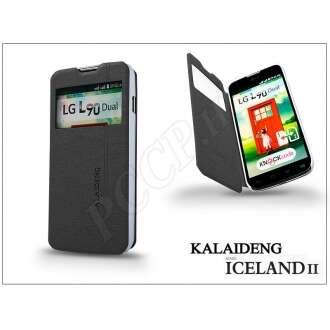 LG L90 D405 fekete flip tok