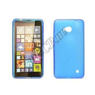 Microsoft Lumia 650 kék vékony szilikon hátlap