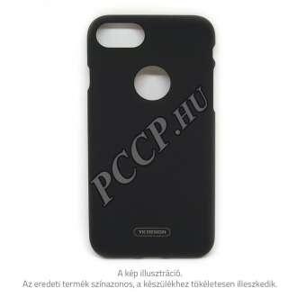 Apple Iphone 8 fekete prémium neon hátlap