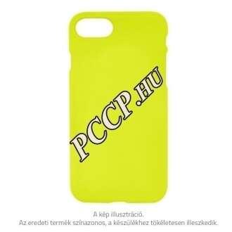Apple Iphone 8 sárga prémium neon hátlap