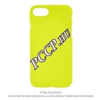 Apple Iphone X sárga neon prémium hátlap