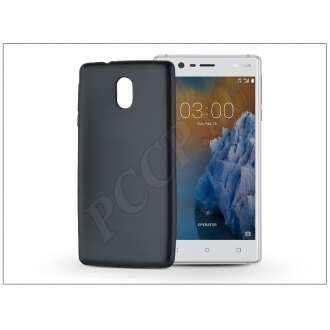 Nokia 3 fekete szilikon hátlap