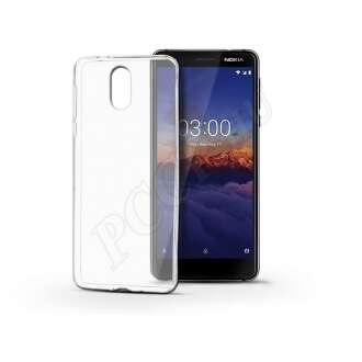 Nokia 3.1 (2018) átlátszó szilikon hátlap
