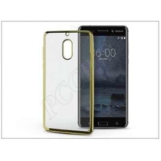 Nokia 6 (2017) arany szilikon hátlap