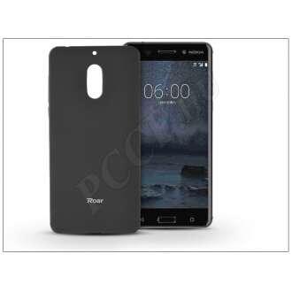 Nokia 6 (2017) fekete szilikon hátlap