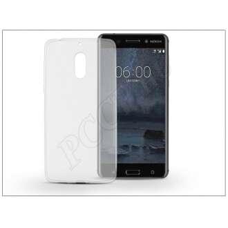 Nokia 6 (2017) átlátszó szilikon hátlap