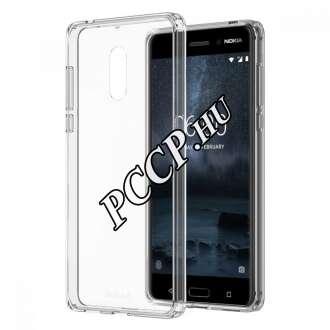 Nokia 6 átlátszó szilikon hátlap