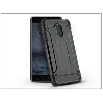 Nokia 6 fekete ütésálló hátlap