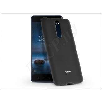 Nokia 8 fekete szilikon hátlap