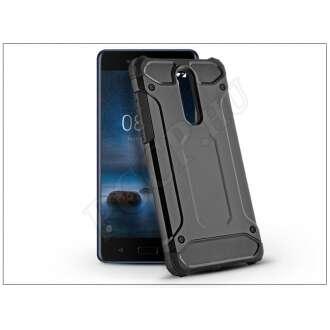 Nokia 8 fekete ütésálló hátlap