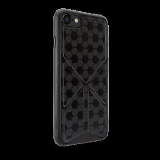 Apple iPhone 7 fekete bőr tok