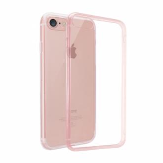 Apple iPhone 7 rózsaszín átlátszó hátlap