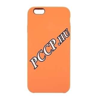 Apple Iphone 8 narancs prémium szilikon hátlap