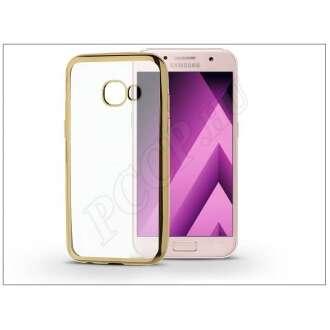 Samsung Galaxy A3 (2017) arany szilikon hátlap