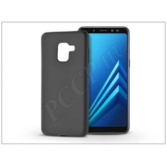 Samsung Galaxy A8 (2018) fekete szilikon hátlap