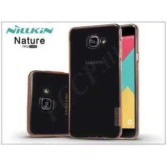 Samsung Galaxy A7 (2016) aranybarna szilikon hátlap