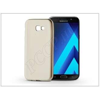 Samsung Galaxy A7 (2017) arany szilikon hátlap
