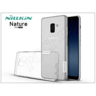 Samsung Galaxy A8 Plus (2018) átlátszó szilikon hátlap
