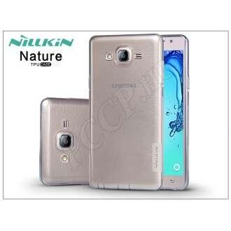 Samsung Galaxy On7 szürke szilikon hátlap