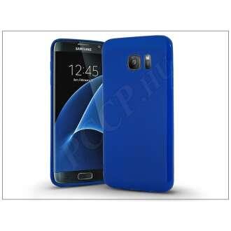 Samsung Galaxy S7 Edge kék szilikon hátlap