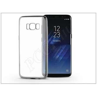 Samsung Galaxy S8 ezüst szilikon hátlap