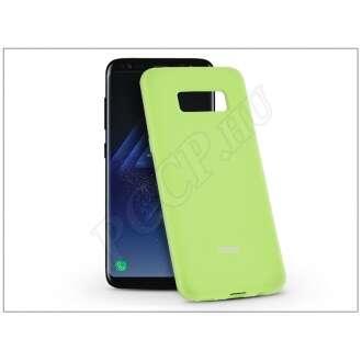 Samsung Galaxy S8 lime szilikon hátlap