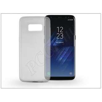 Samsung Galaxy S8 fekete szilikon hátlap