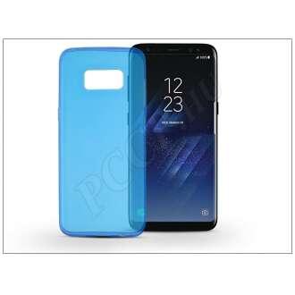 Samsung Galaxy S8 kék szilikon hátlap