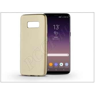 Samsung Galaxy S8 Plus arany szilikon hátlap