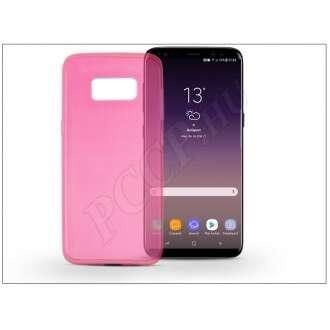 Samsung Galaxy S8 Plus pink szilikon hátlap