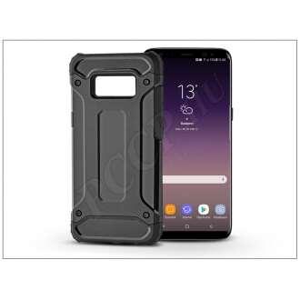 Samsung Galaxy S8 Plus fekete ütésálló hátlap
