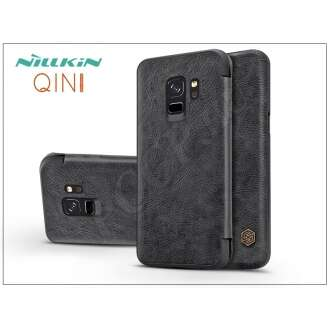 Samsung Galaxy S9 fekete oldalra nyíló flip tok