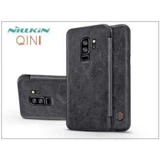 Samsung Galaxy S9 Plus fekete oldalra nyíló flip tok